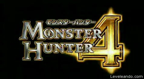 monster hunter 4 logo 3ds