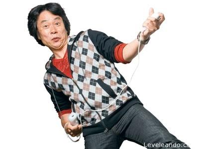 Shigeru Miyamoto Wii