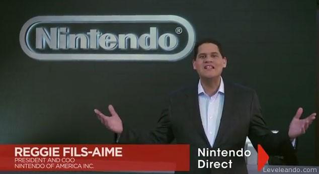 Directo del cuartel de Nintendo América, Reggie presenta la segunda entrega de Nintendo Direct.