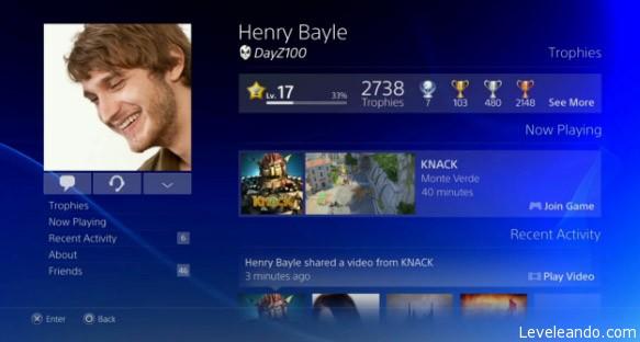 PlayStation 4 - Social
