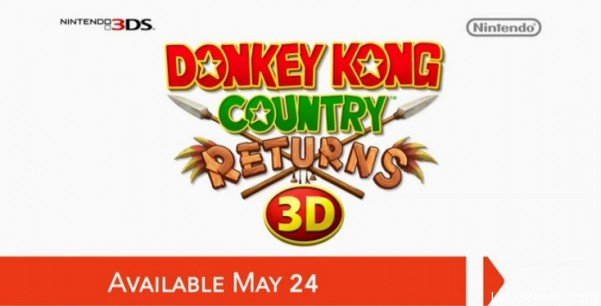 Logo Donkey Kong Country Returns 3DS