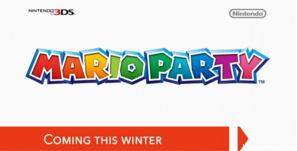Logo Mario Party 3DS