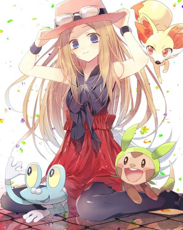 Protagonista Pokémon X & Y