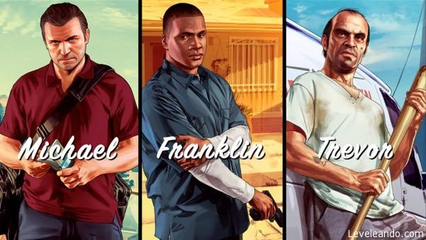 GTA V - Personajes