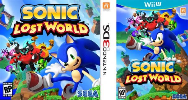 Sonic Lost World - 3DS, Wii U