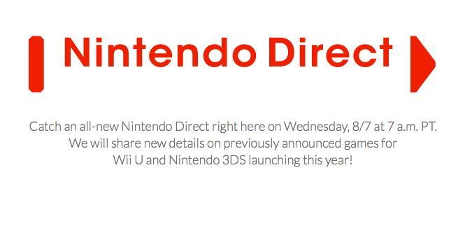 Se enfocará en los juegos para el Wii U y 3DS.